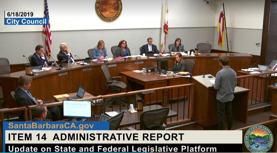 Santa Barbara Includes Back from the Brink in Legislative Platform